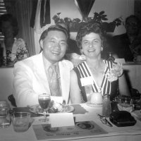 July 1970 to June 71 - Lion Charlie Bottarini's year as Deputy District Governor - A Lion with Estelle Bottarini at a District function.