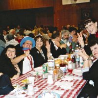 2/26/05 - Crab Feed at Recreation Center For the Handicapped, San Francisco - 429 attending - guests having a great time!
