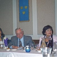 7/30/05 - United Irish Cultural Center - 55th Installation of Officers - Jesusa Straus, and Lion Bob and Zenaida Lawhon.