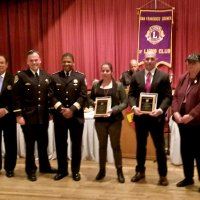 4/14/18 - SFCCLC Police, Firefighters, & Sheriffs' Awards Dinner, Patio Espanol. Twitter: