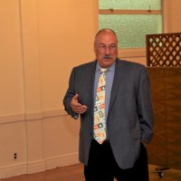 06/20/18 - 69th Installation of Officers, Italian American Social Club, San Francisco - Lion George Salet, newly installed President, talking about his plans for the coming year.