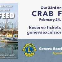 2/24/18 - 33rd Annual Crab Feed - Crab Feed Social Media Ad