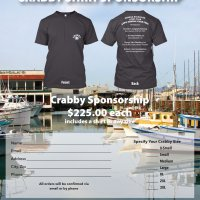 2/24/18 - 33rd Annual Crab Feed - Crab Feed Sponsorship Flyer