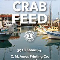 2/24/18 - 33rd Annual Crab Feed - Crab Feed Banner