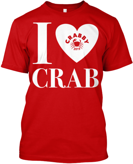 Front of Crab Feed Teeshirt