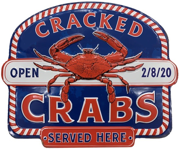 2020 Lions Crab Feed Logo