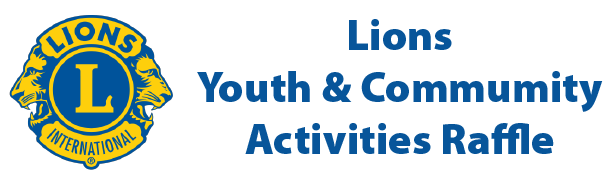 Lions Youth & Community Raffle logo