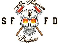 San Francisco Bomberos, Fire Fighter Volunteer Group Logo